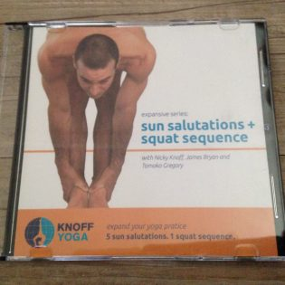 9. DVD – Sun Salutations and Squat Sequence