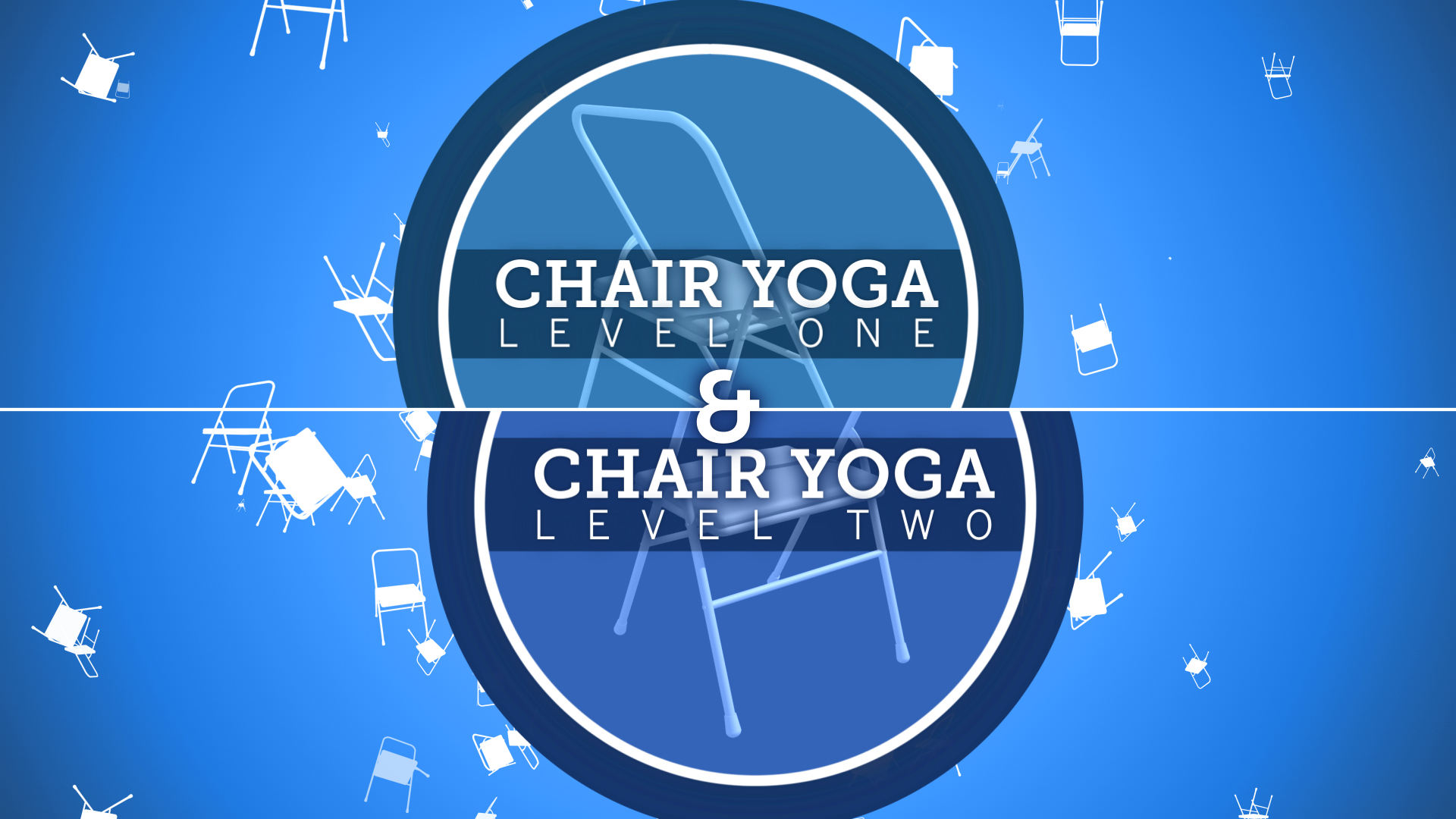USB Version Chair Yoga Levels One Two Includes Both Manuals 50 Pages Total