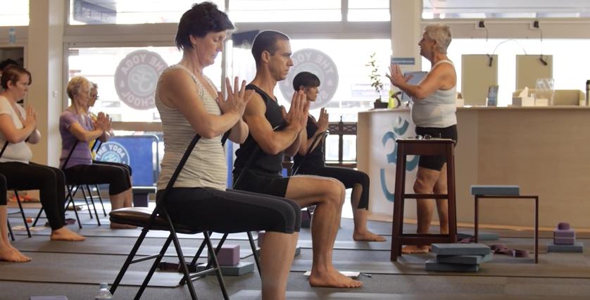 chair yoga level 2 teacher traingin